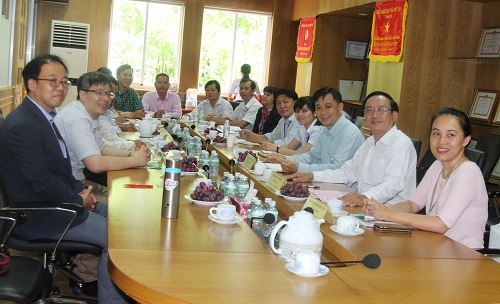 Meeting Session with Department of Labour, War Invalids and Social Affairs
