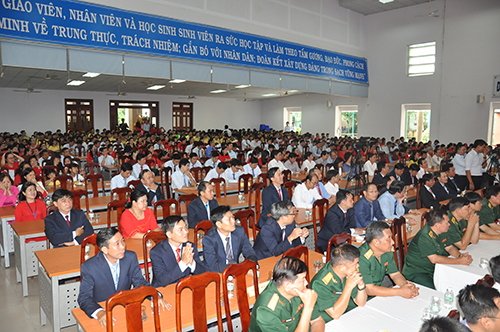 20th ANNIVERSARY CEREMONY OF SCHOOL'S ESTABLISHMENT & STARTING 2018-2019 SCHOOL YEAR CEREMONY