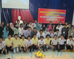The students of Ungku Omar Polytechnic College and Phu Lam Economic and Technical College exchanged cultures and learning