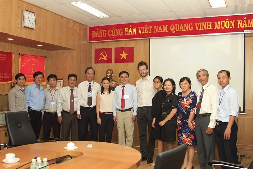 Welcome Ho Chi Minh Electronic - Mechanical Association and the Institute of European cooperation development ( IECD)