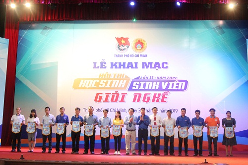 Opening Ceremony Of  The 11th Skill Contest Forstudents 2019