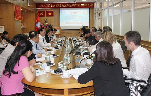 Meeting Session with Directorate of Vocational Training and British Delegation on discussing International cooperation